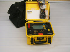 Used AEMC 6240 -10A ductor Service and calibrated by  AEMC New battery C/w leads, carry bag and  calibration certificate