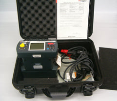 Used Megger BITE 3 Battery Impedance Tester Complete with test leads,  software lead, hard case,  user manuals and calibration  report