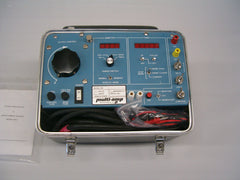 Used Multi-amp MS-2 250A Continuous Current 750A Inst. C/w High current leads Calibration certificate User manual