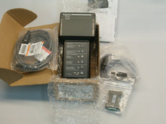 Used Schneider Square D  Micrologic Hand held test Kit Model S33594 Brand New Condition C/w cables & User manual