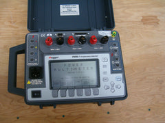 Megger PMM-1 Power Multi-meter, 3 phase Battery or line operated C/w leads and calibration  certificate