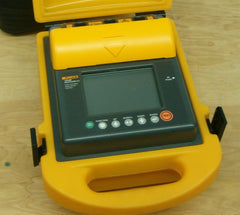 Fluke 1550B 5kV Insulation Resistance  Tester c/w leads, case, user manual  and calibration certificate