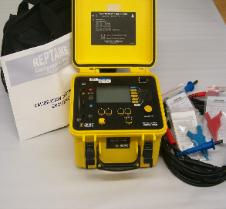 Used AEMC 5050 5kV Insulation Ressistance  Test Set New Battery C/wNew leads, carry bag and   Calibration Certificate.