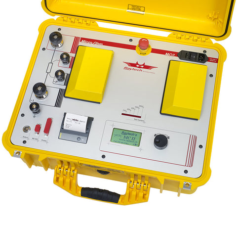 MC2 Contact Resistance Meter: Fully Automatic, 200 Amp Micro
