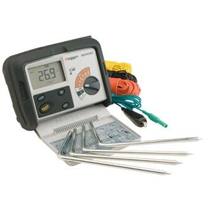 Megger DET3 DET4 Series Ground Earth Tester Canada