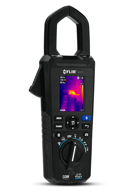 FLIR CM275: IGM™ Clamp Meter with Datalogging (Wireless)