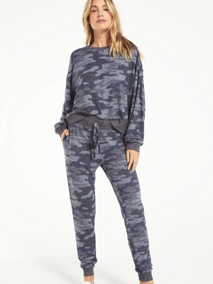 ZSupply Camo Marled Top
