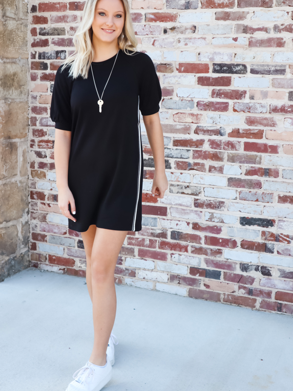 BB Dakota- Baby Doll Black Dress
