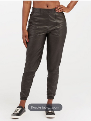 SPANX leather like jogger