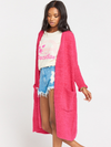 Show Me Your Mumu- Clayton Cardigan in Shocking Pink
