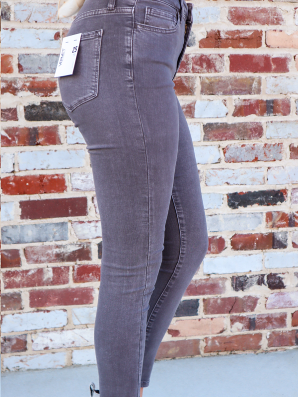 Seattle Grey High Rise Vintage Skinny