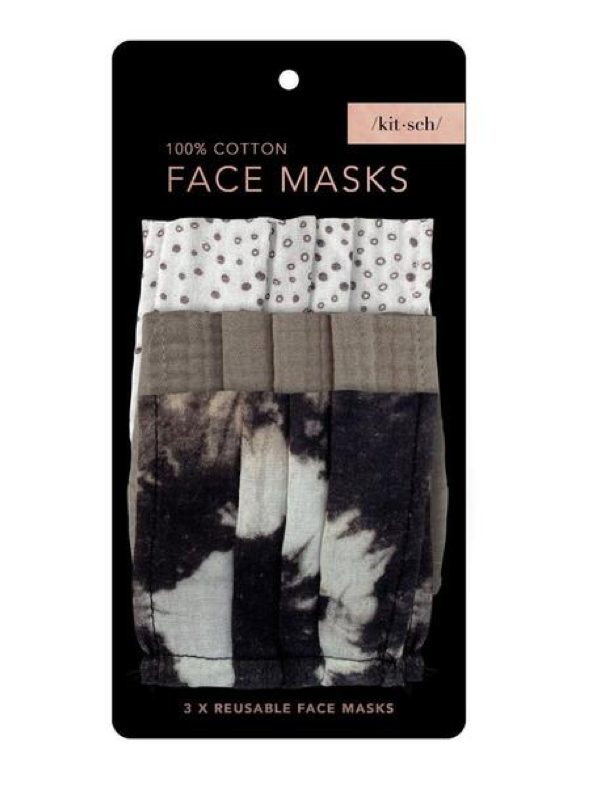 Cotton Mask Set of 3