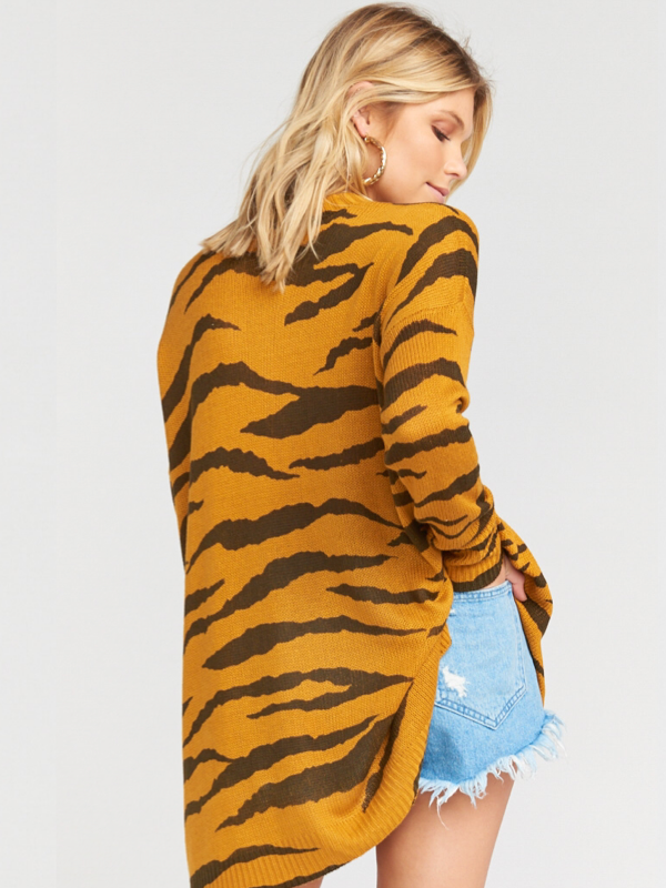 Show Me Your Mumu- Bonfire Sweater in Great Tiger