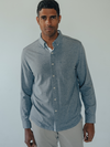 Puremeso Longsleeve Button Down in Blue