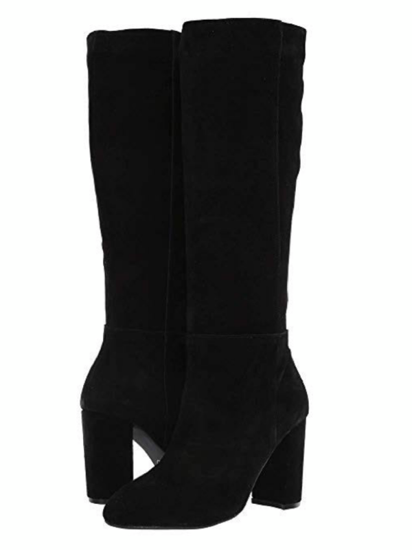 Chinese Laundry- Krafty Suede Black Boots