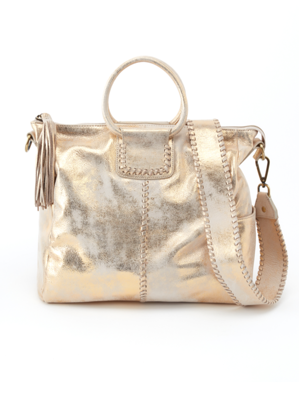 Hobo Sheila Distressed Gold