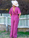 Band of Gypsies Ibiza Pink Jumpsuit