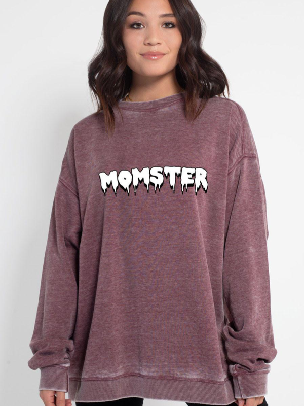 Friday + Saturday Momster Sweatshirt