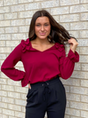 Cranberry Dreams Top