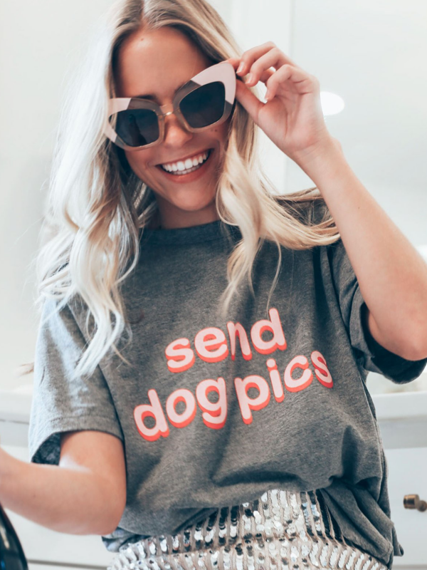 Friday + Saturday Tee- Send Dog Pics