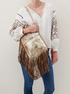 Stevie Gilded Leaf Hobo Purse