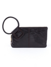 Hobo Sable Black Wristlet