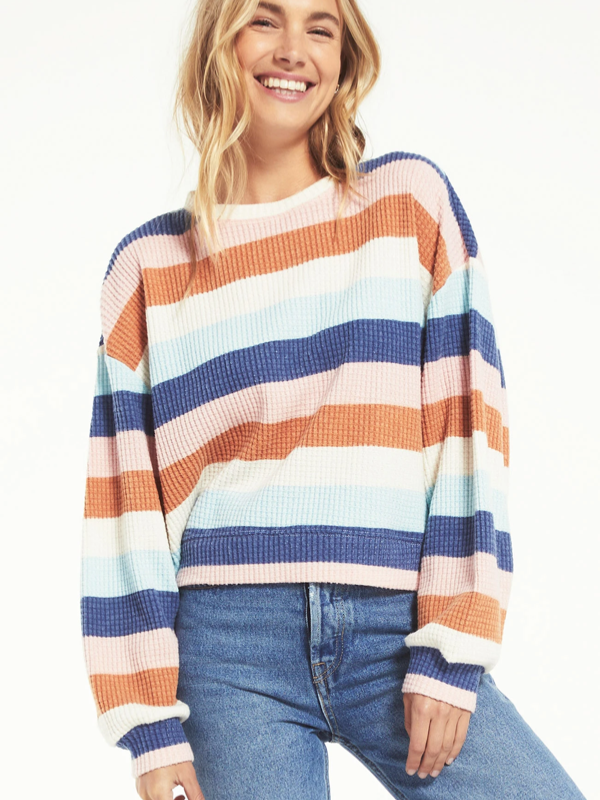 ZSupply Mercer Stripe Thermal Top