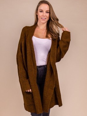 Cinnamon Cardigan One Size Fits All