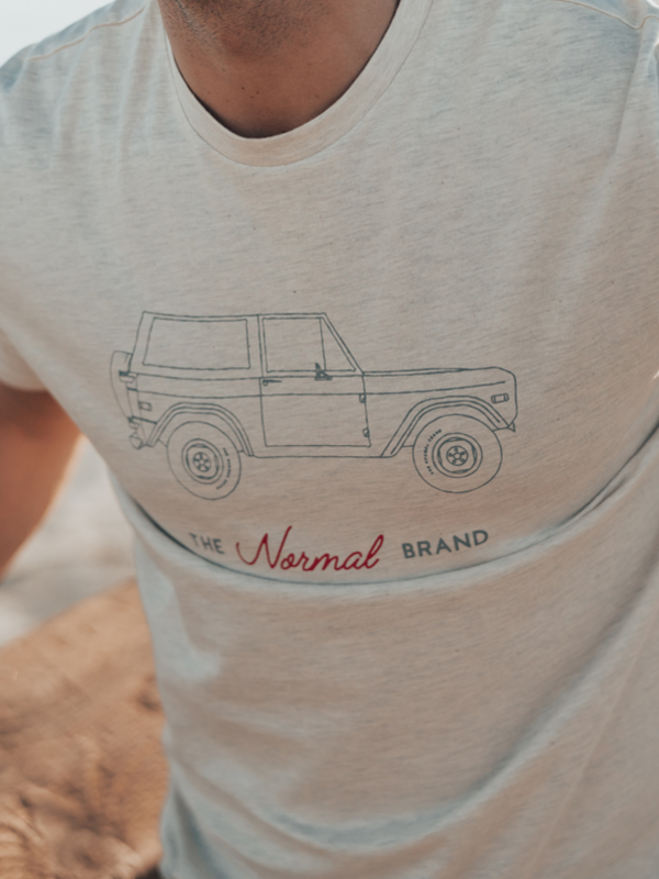 Bronco T-Shirt in Stone Wash