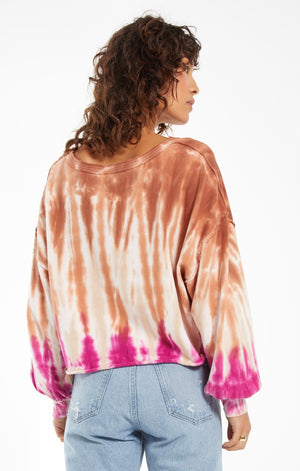 Z Supply Sahara Tie-Dye Sweatshirt