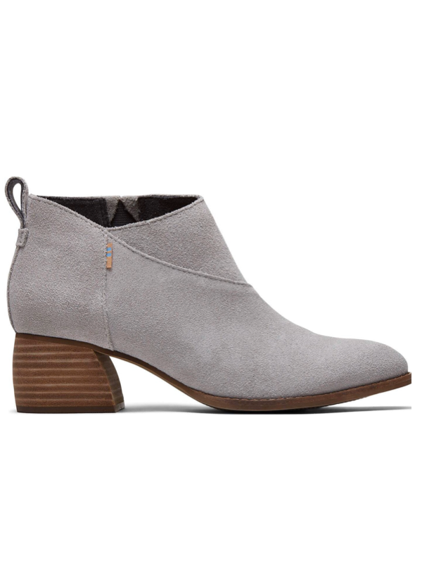 Leilani in Drizzle Grey Suede