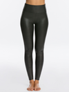 SPANX Black Faux Leather Legging