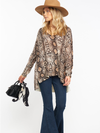 Hug me Sweater Python Knit - Show Me Your Mumu