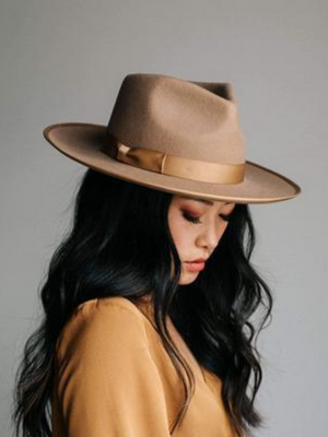 Gigi Monroe Brown Hat