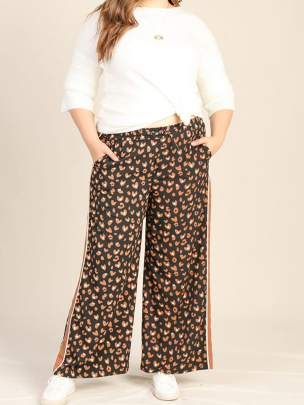 Carmel Leopard Jogger available in Standard & Curvy Sizes