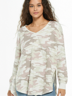 ZSupply Dusty Camo V-Neck Weekender
