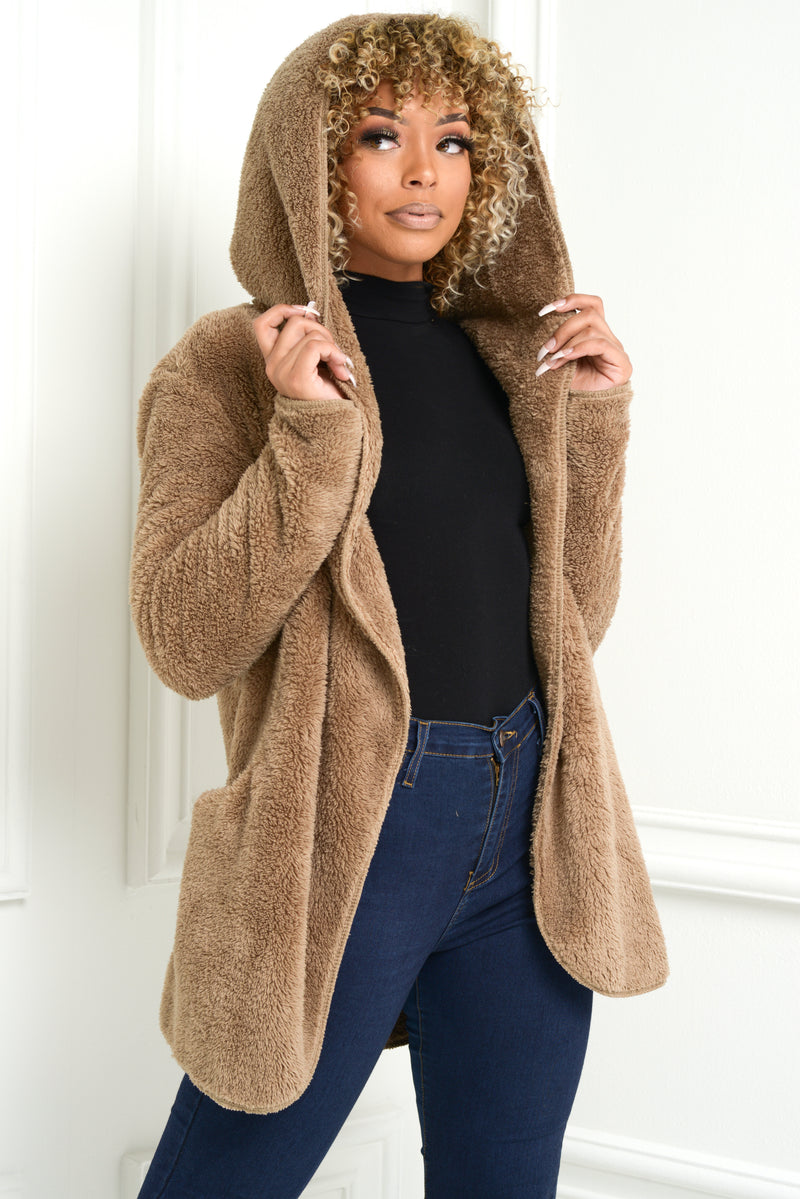 Teddy Hooded Jacket