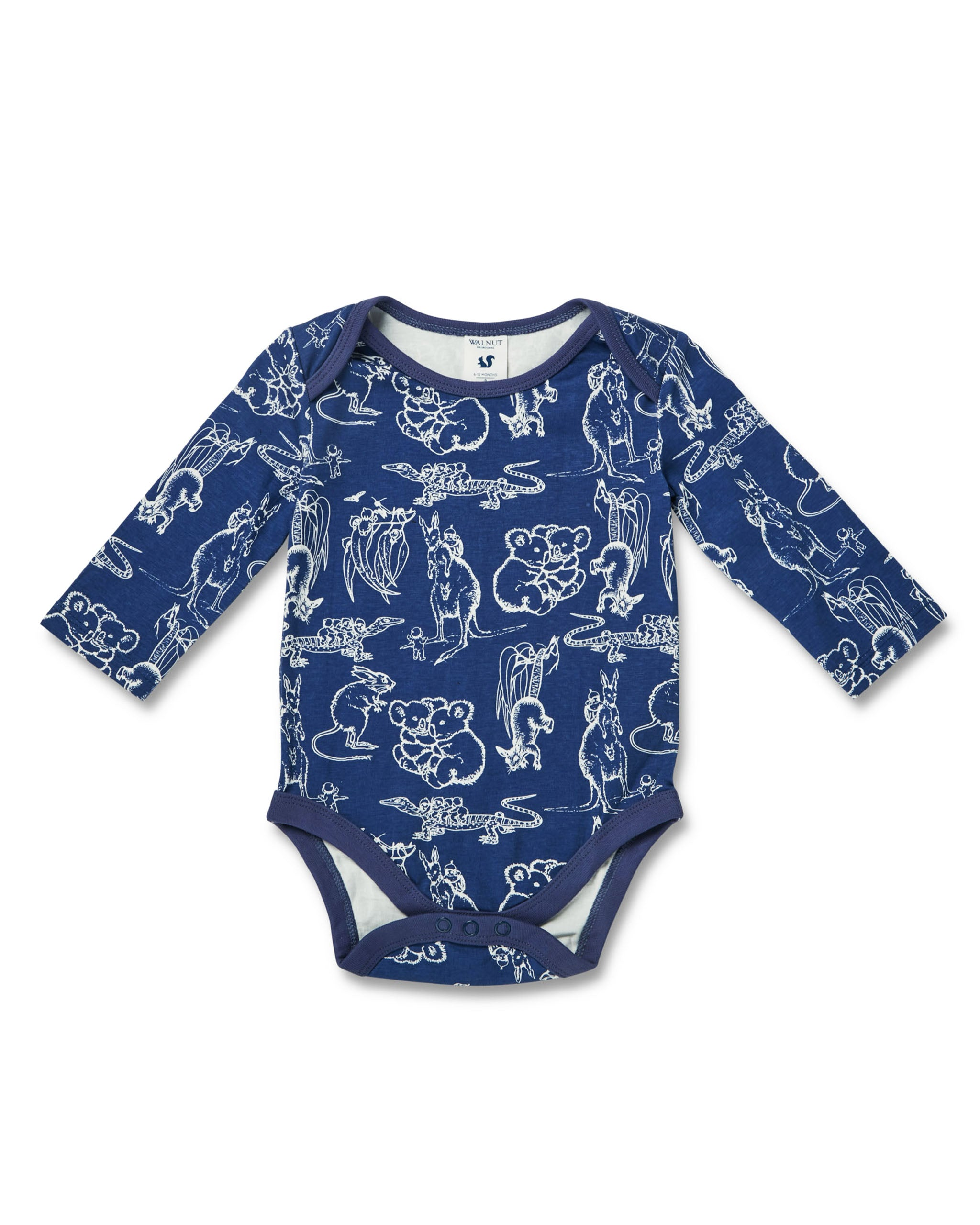 May Gibbs Winter Onesie - Bush Buddies