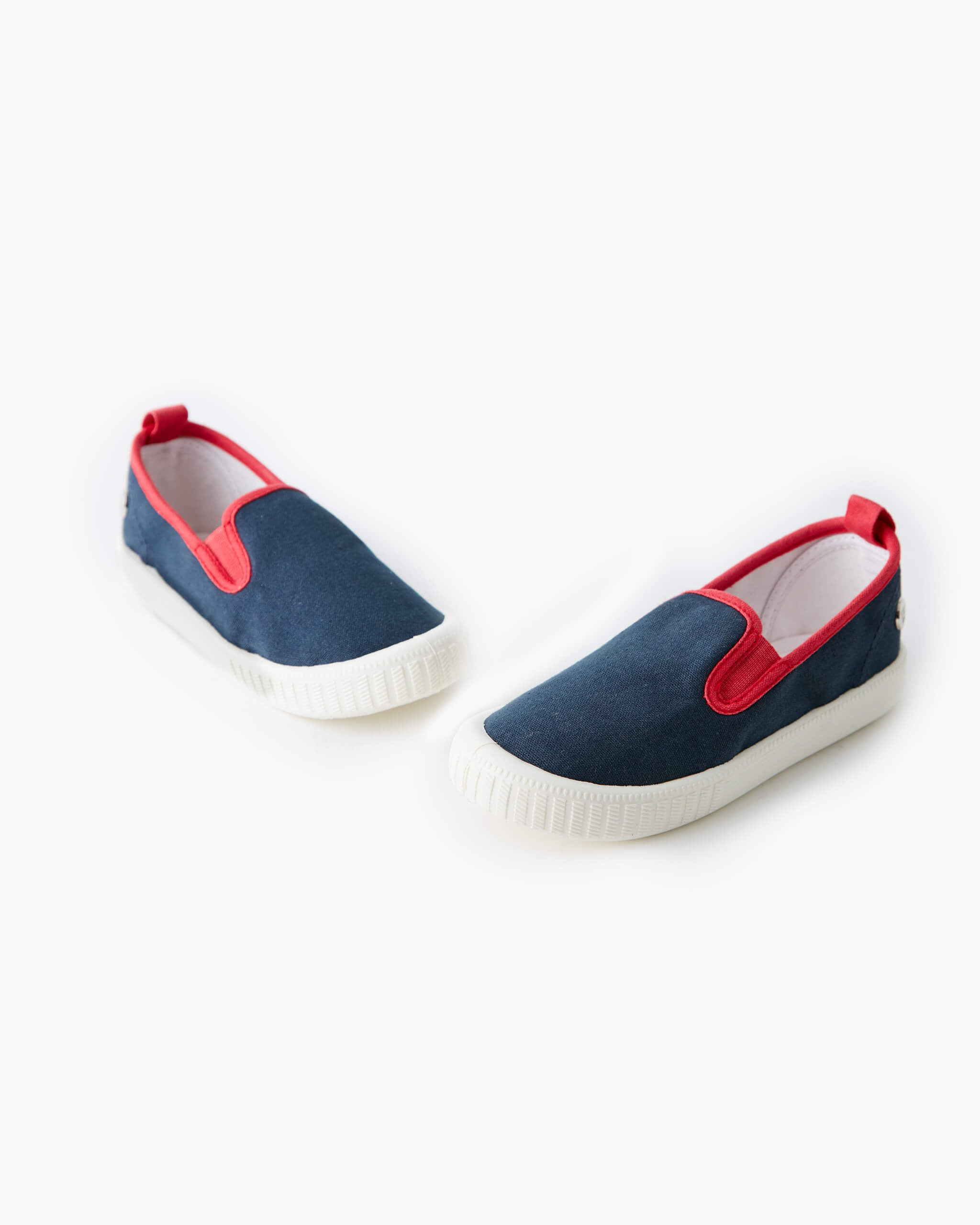 Warehouse Sale Canvas Charlie - Navy Red