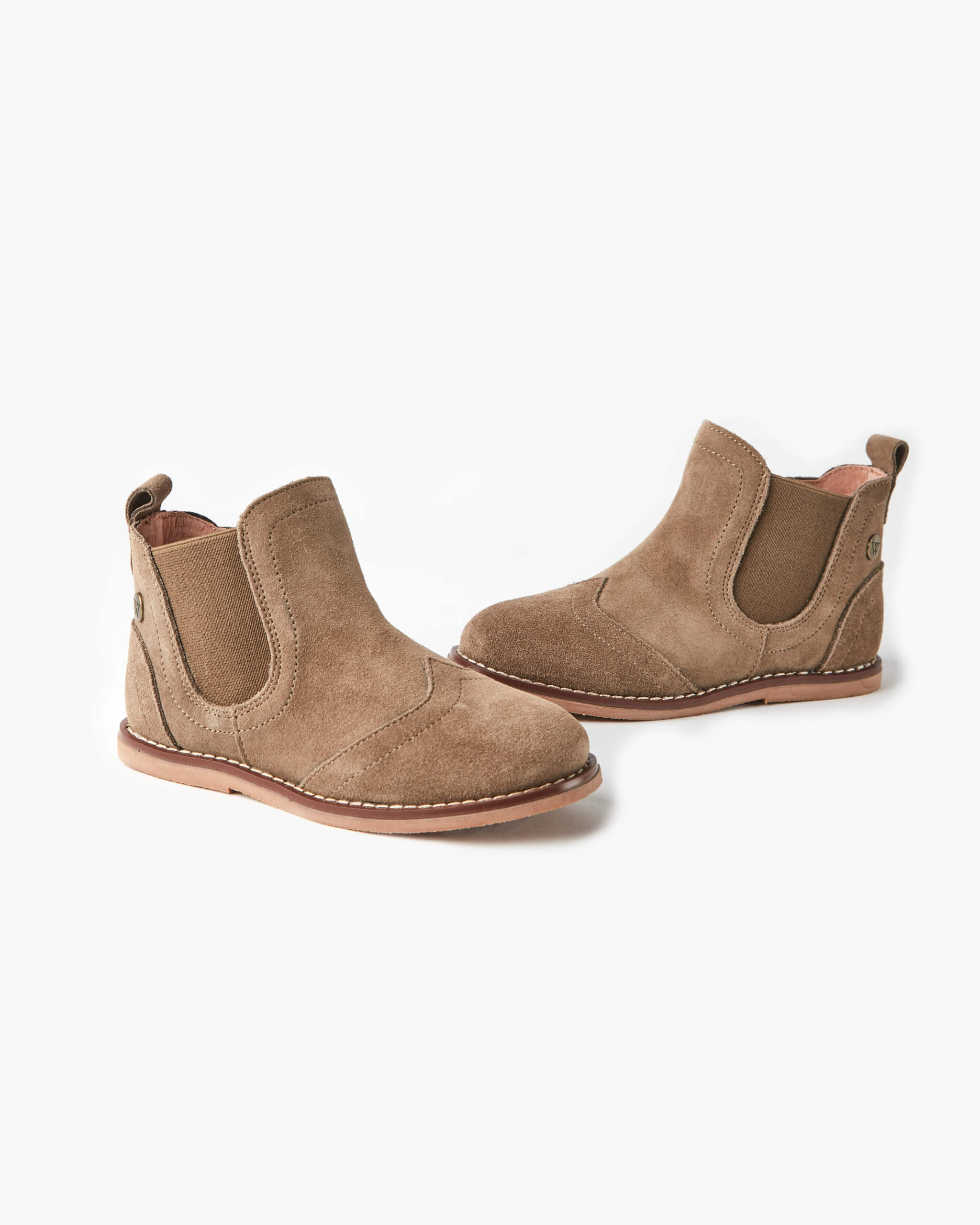 Burrow Leather Boot - Taupe