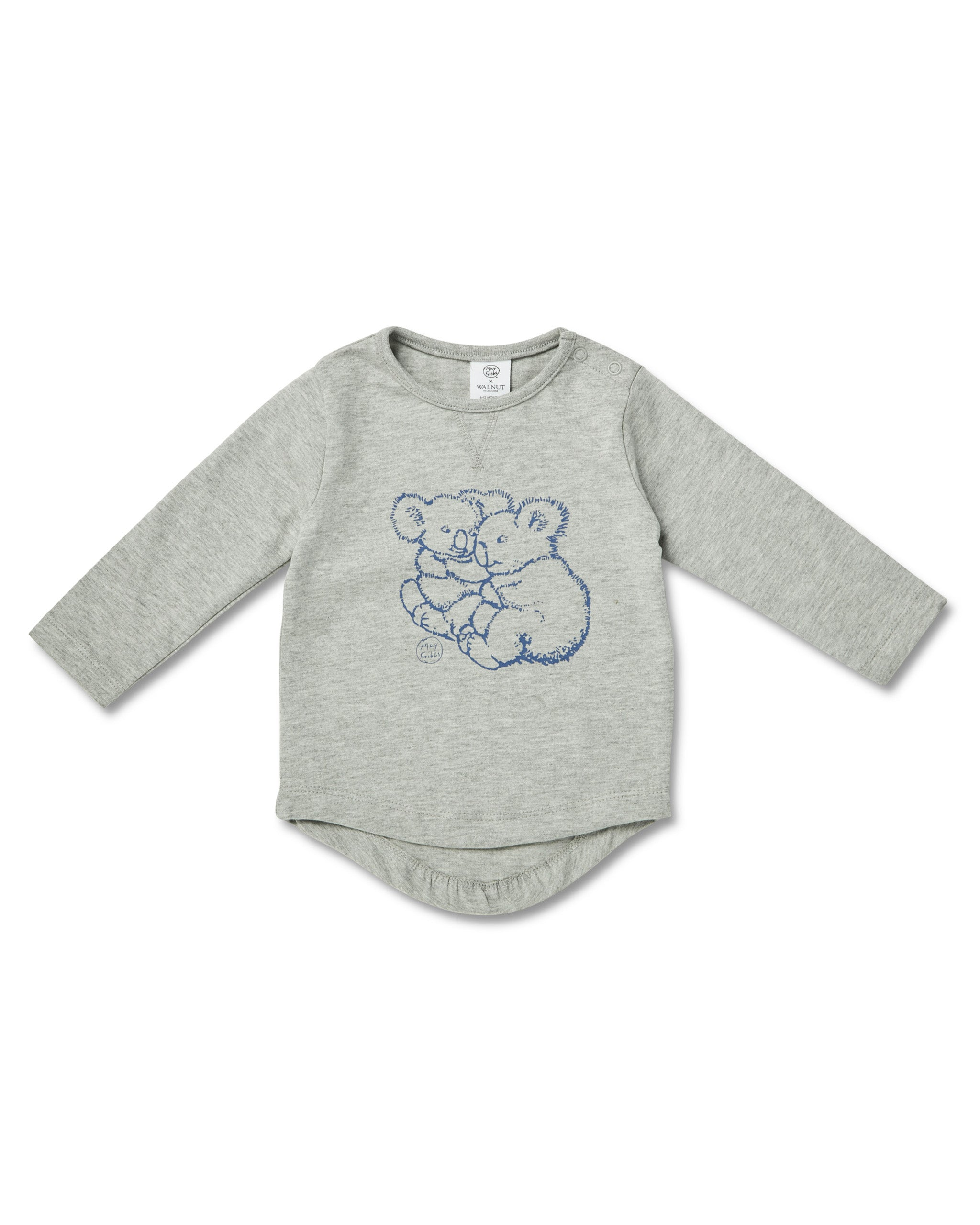 May Gibbs Leo Long Sleeve Tee - Koala Cuddles