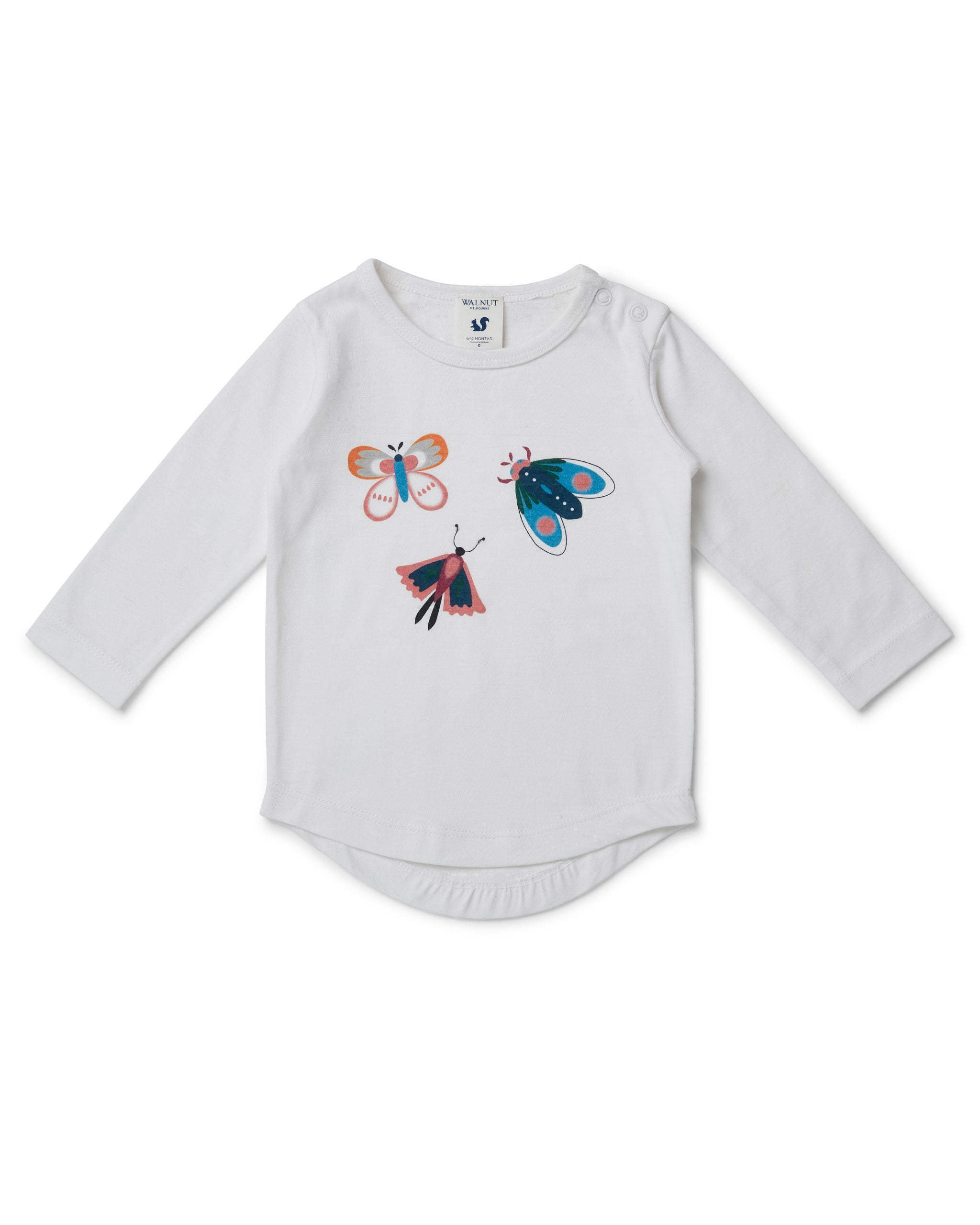 Leo Long Sleeve Tee - Flutter