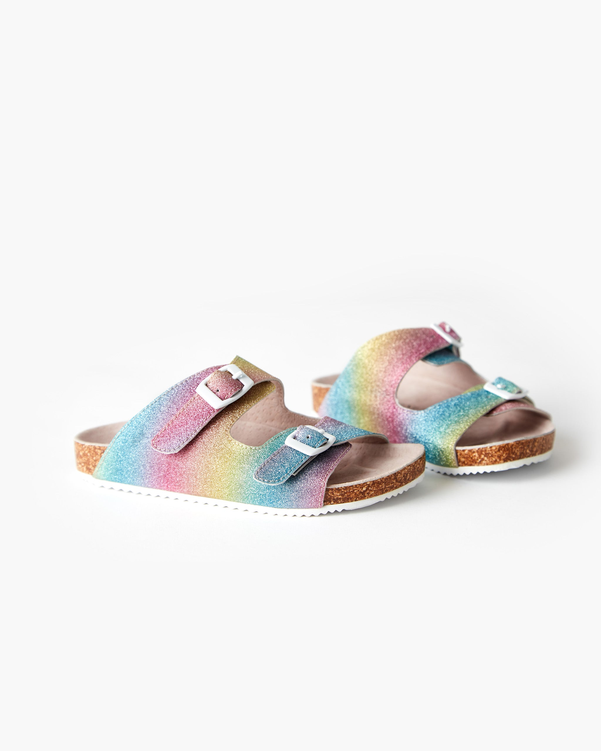 Bailey Mini Slide - Rainbow Shimmer
