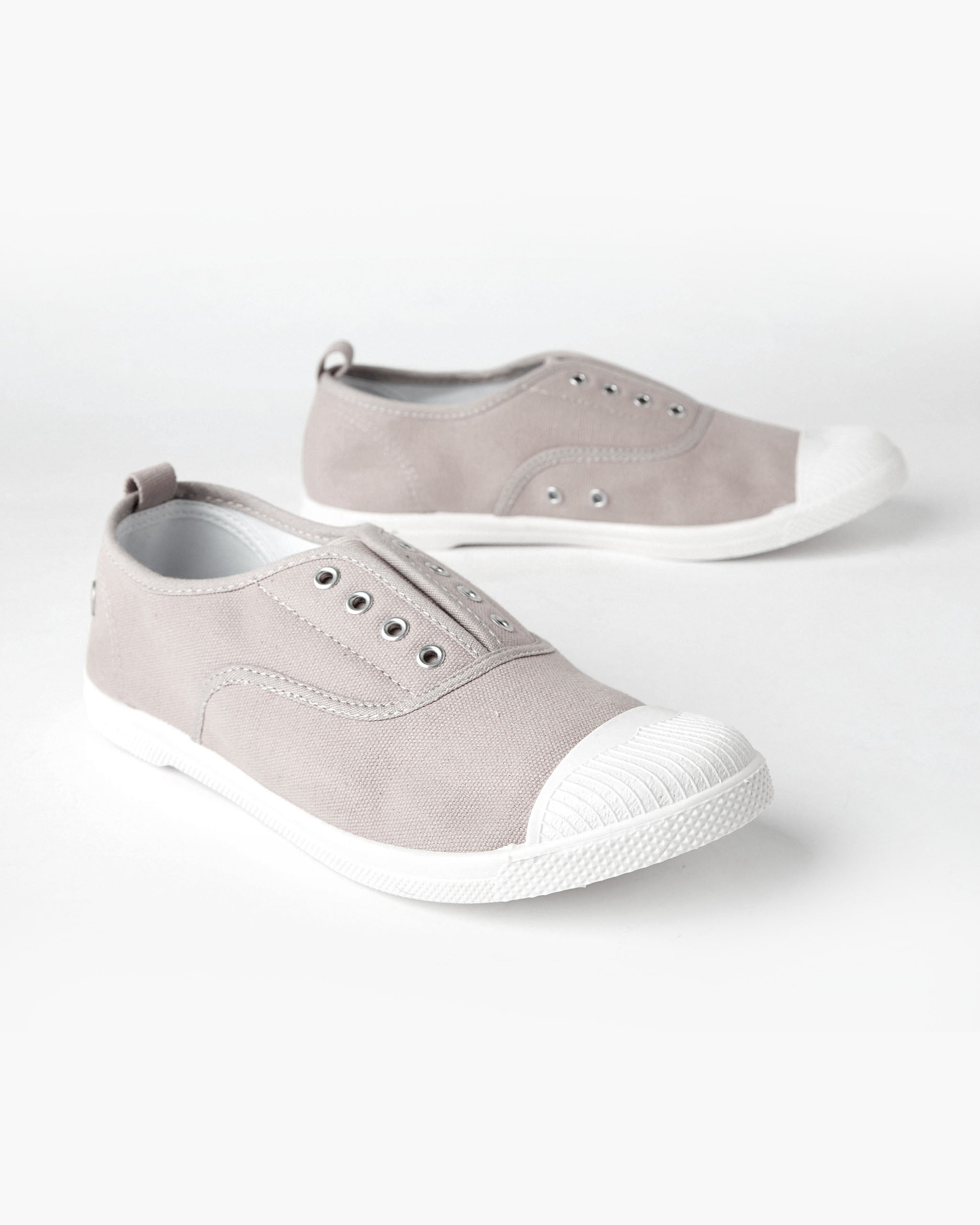 Euro Canvas Plimsole - Grey