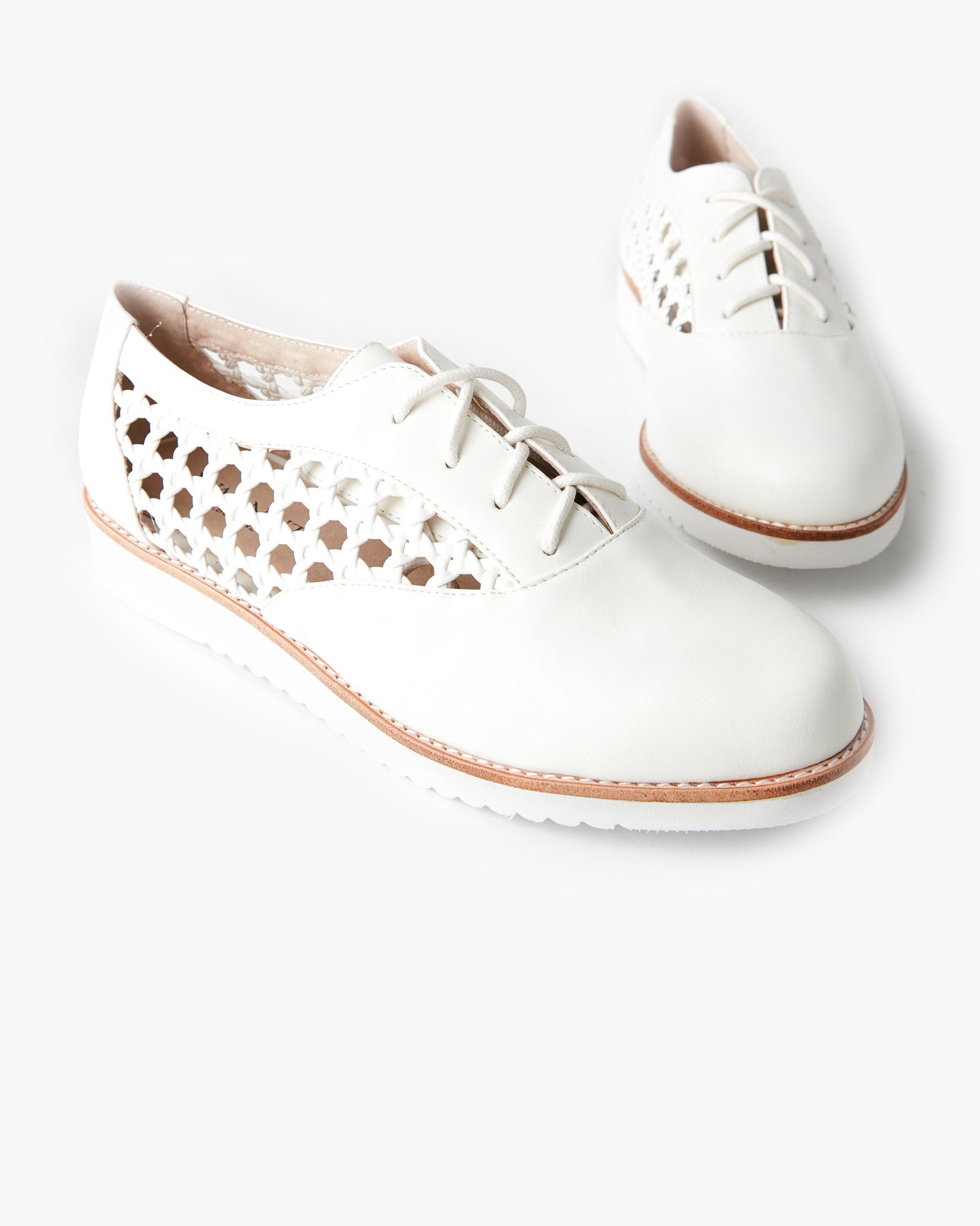 Meka Lace Up - Marshmallow