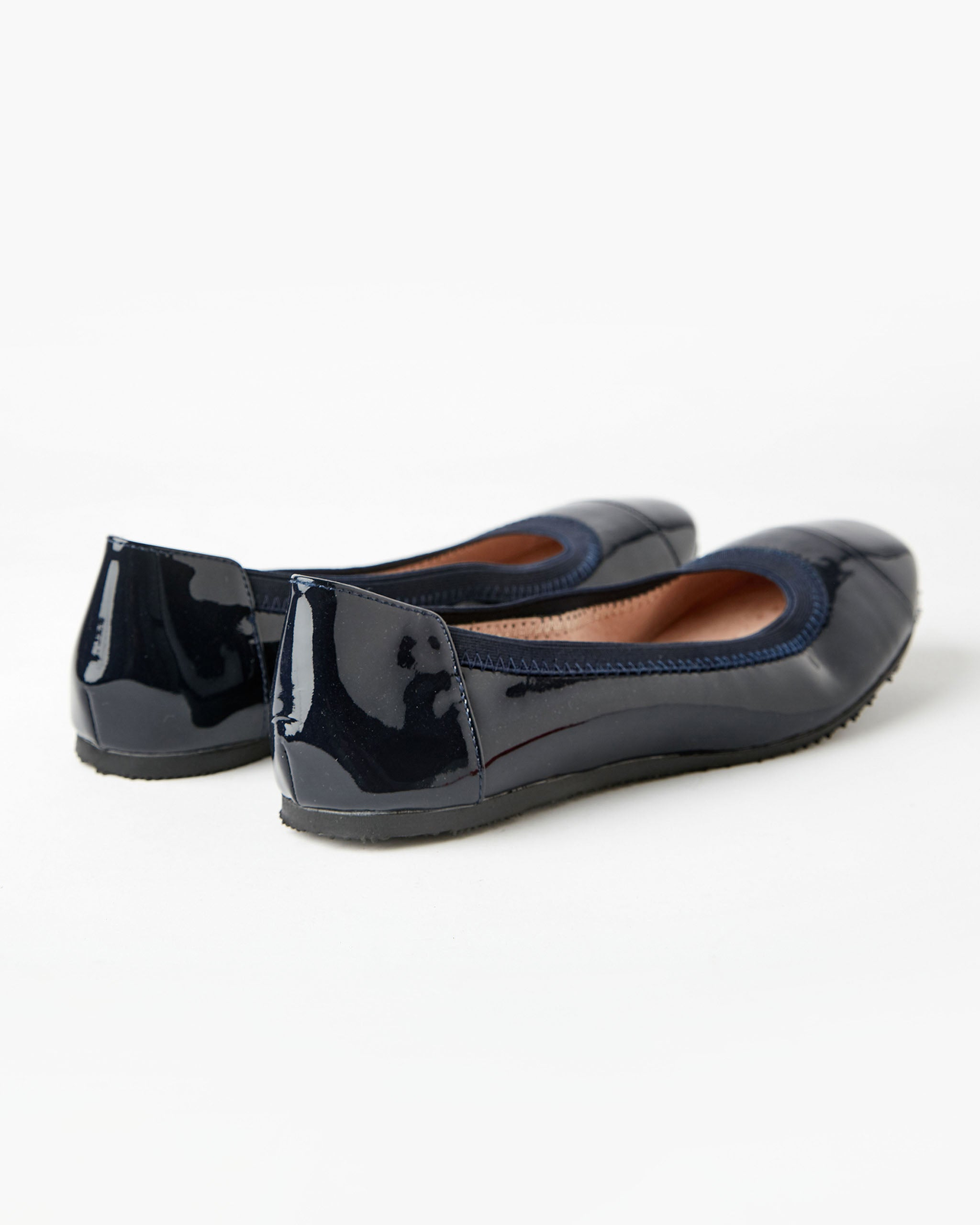 Ava Ballet French Navy