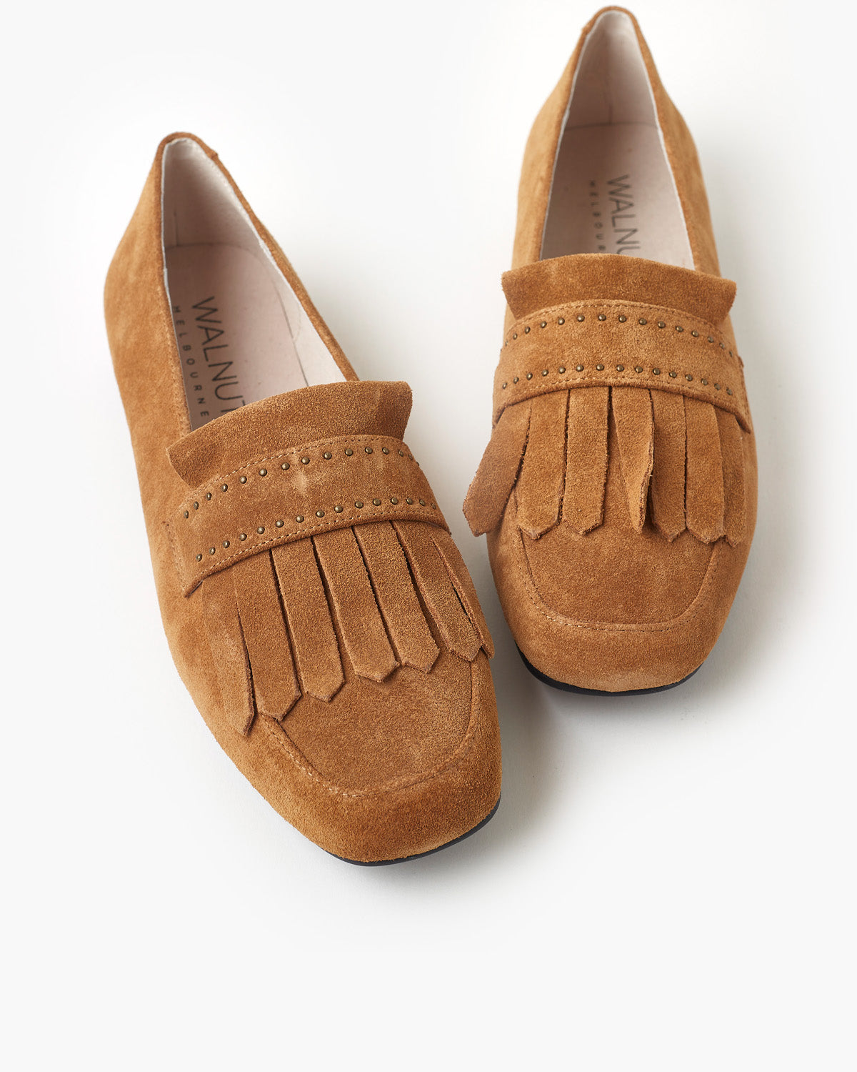Carolina Leather Loafer - Sand Suede
