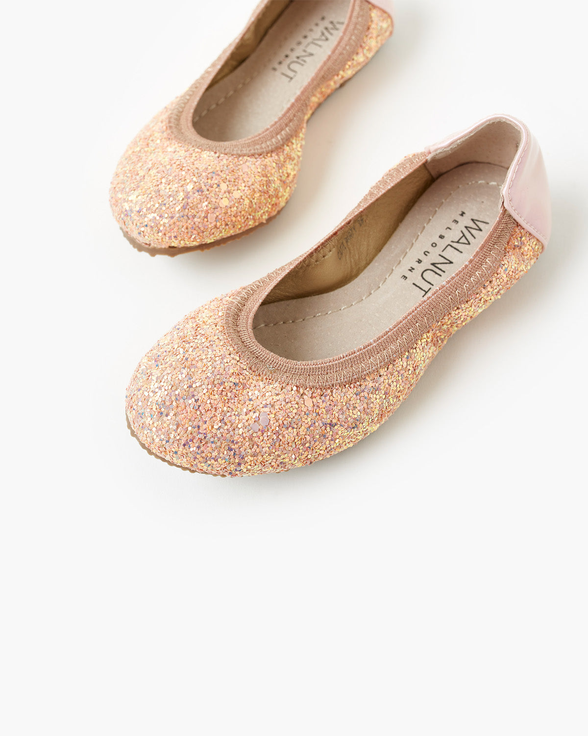 Catie Party Ballet - Blush Glitter