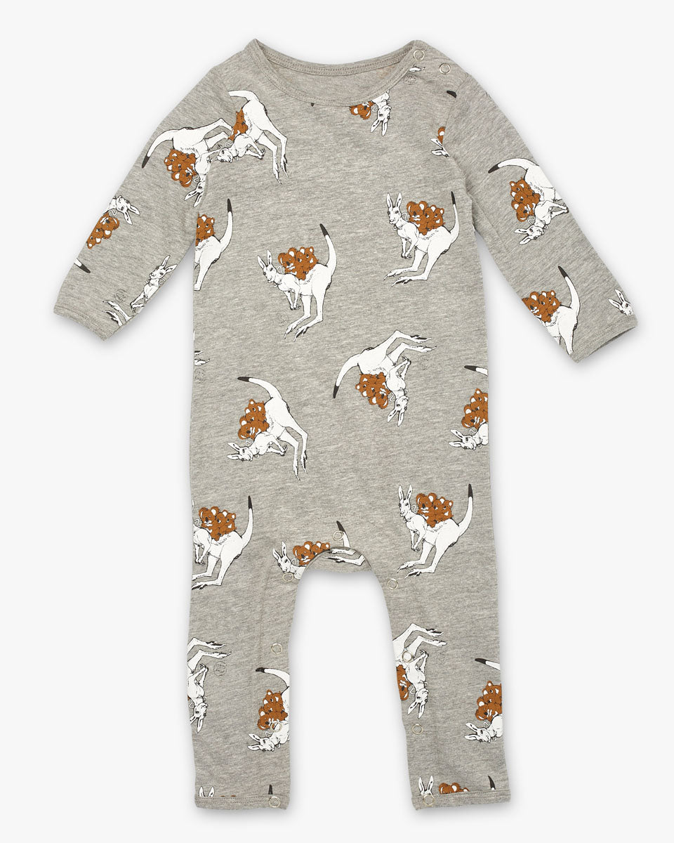 May Gibbs Scout Onesie - Joey Grey