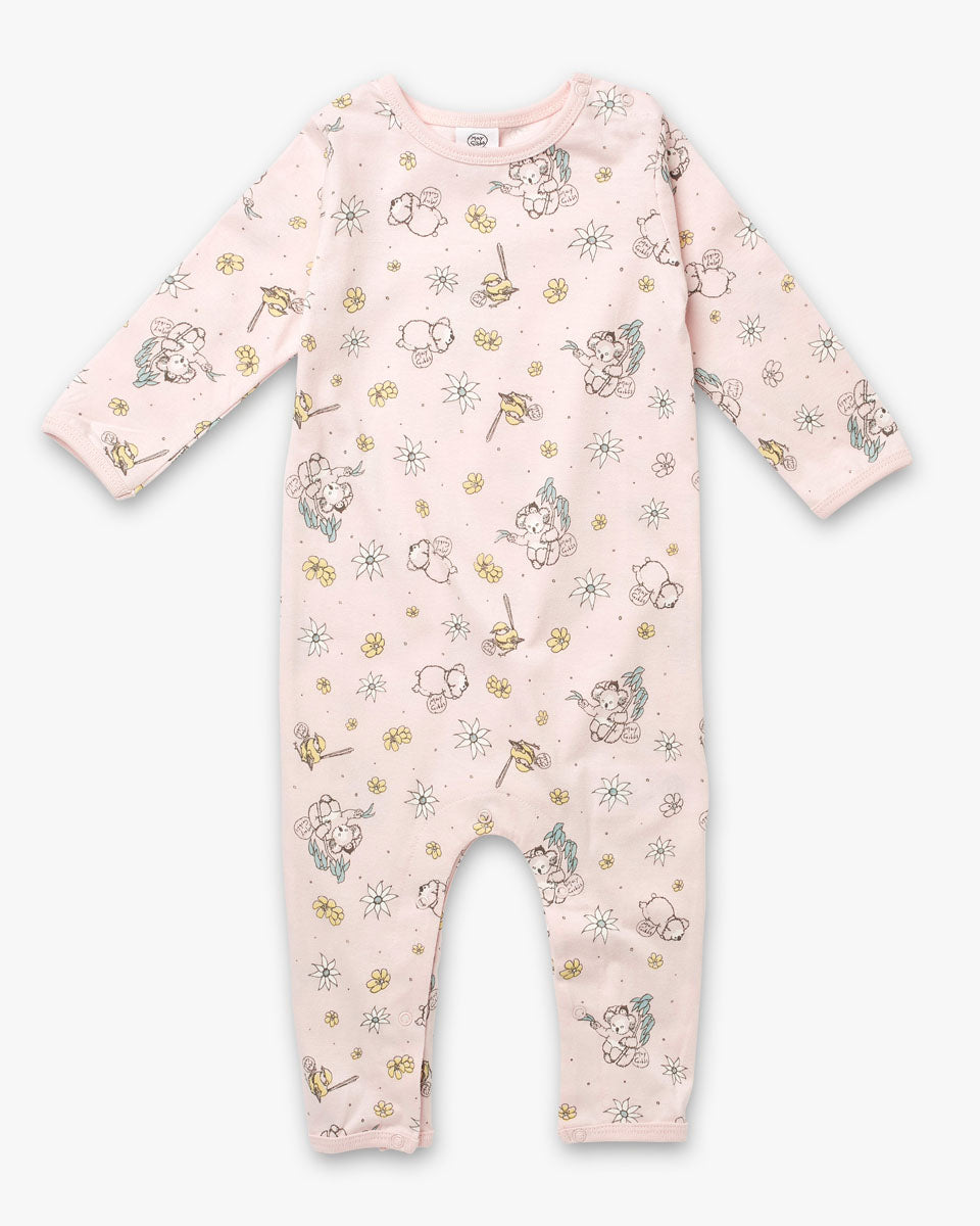 May Gibbs Scout Onesie - Whisper